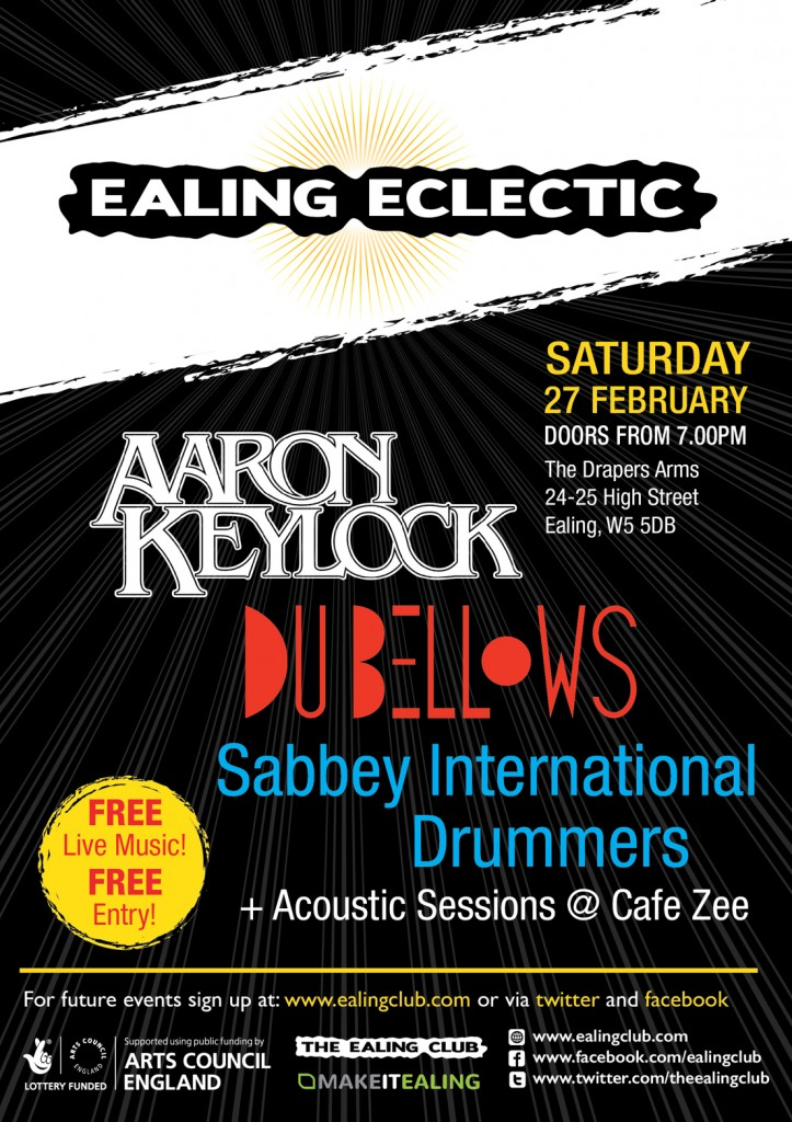 Ealing Eclectic February 27th 2016