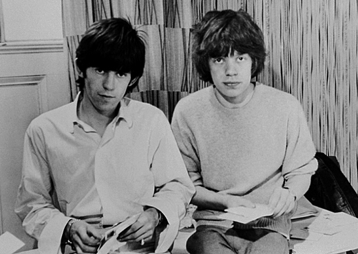 Mick and Keith