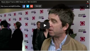 Noel Gallagher on small venues