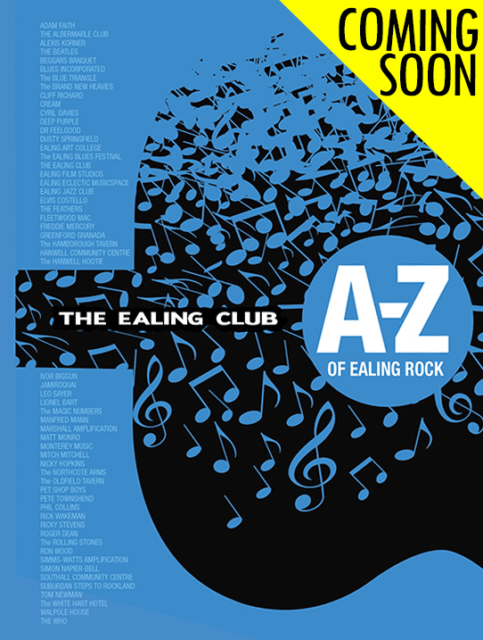 The A-Z of Ealing Rock details how this small area of west London played a crucial part in the development of the music made by innovators such as The Rolling Stones, The Who, Queen, Cream, The Jimi Hendrix Experience, Dusty Springfield, Fleetwood Mac and many more. Available price £10, The A-Z of Ealing Rock (ISBN 978-1-78926-463-0) tells you all you need to know about what you need to know about how Ealing, Acton and Hanwell made their mark on popular music.