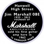 Marshall Plaque Hanwell